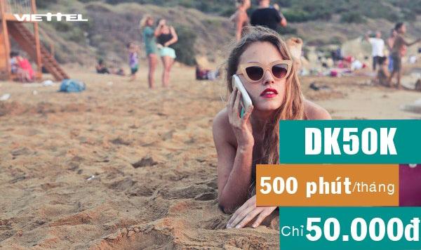 Cách đăng ký 500 phút gọi nội mạng Viettel giá rẻ chỉ 50.000đ