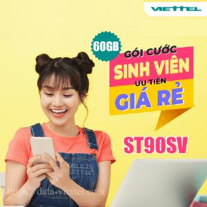Gói ST90SV Viettel ưu đãi 2GB/ngày giá chỉ 70k/tháng