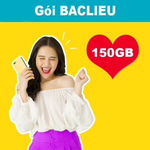 Gói BACLIEU Viettel miễn phí 5GB/ngày + Gọi nội mạng dưới 30 phút