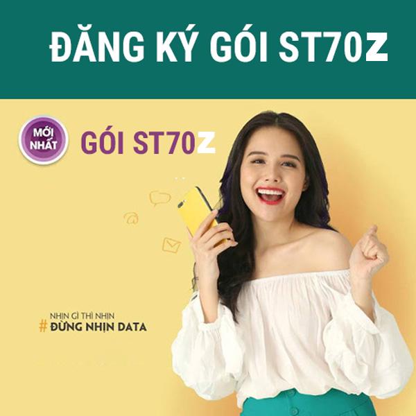 Gói ST70Z Viettel ưu đãi 30GB giá chỉ 70k/tháng