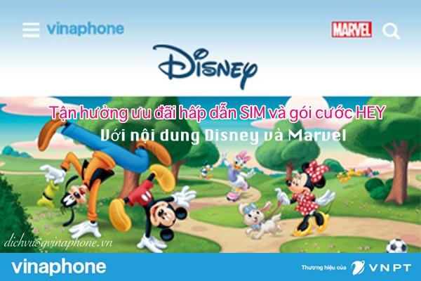 Hey Disney Vinaphone - mang kho phim cổ tích vào điện thoại của bạn